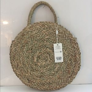 URBAN EXPRESSIONS Straw Bag